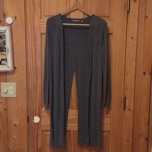 Athleta Long Yoga Cardigan